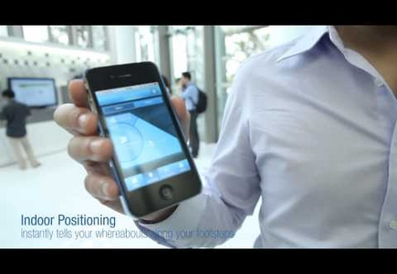 Unilever Media Lab Guided Tour app – Guide you all the way with Indoor Positioning technology
