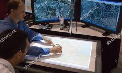 stock-photo-san-diego-june-digitizing-maps-at-the-esri-international-user-conference-which-is-held-45564199