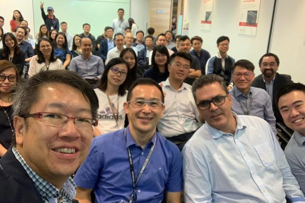 Cherrypicks' team invited to provide technological insight at Avery Dennison Townhall
