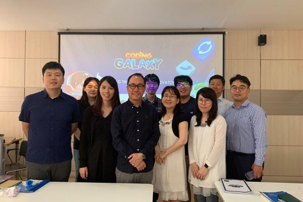 Cherrypicks invited to hold a two day Coding Galaxy training camp by three Korean eLearning partners