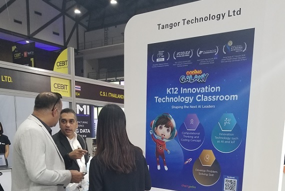 CEBIT ASEAN Thailand: Coding Galaxy featured in the Hong Kong pavilion